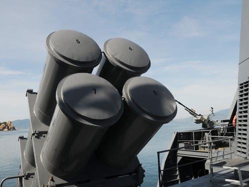 Sát thủ diệt hạm của tàu chiến Gepard VN - 2