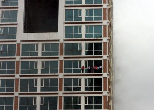 Cháy tòa nhà Tổng cục Hải Quan - 2