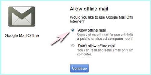 Viết Gmail trên Chrome không cần Internet - 4