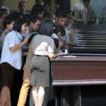 Bàn giao thi thể nạn nhân vụ Sukhoi