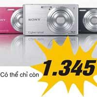 Một loạt điện thoại, máy ảnh giảm giá 50%