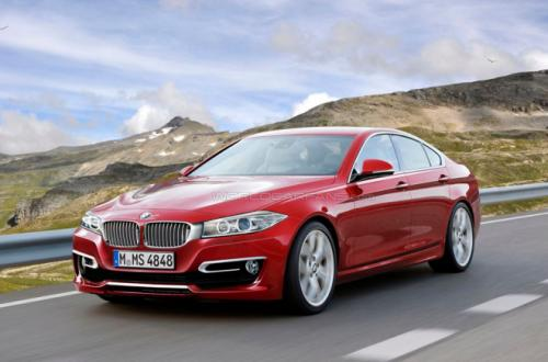 """Hàng """"nóng"""" BMW 4-Series Gran Coupe lộ diện - 1"""