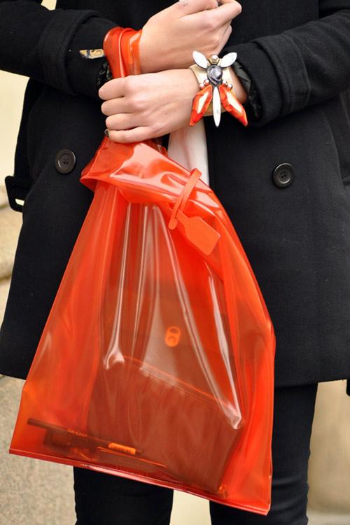 Túi xuyên thấu càn quét thời trang phố - 13
