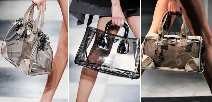 Túi xuyên thấu càn quét thời trang phố - 15