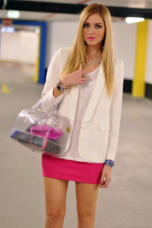 Túi xuyên thấu càn quét thời trang phố - 16