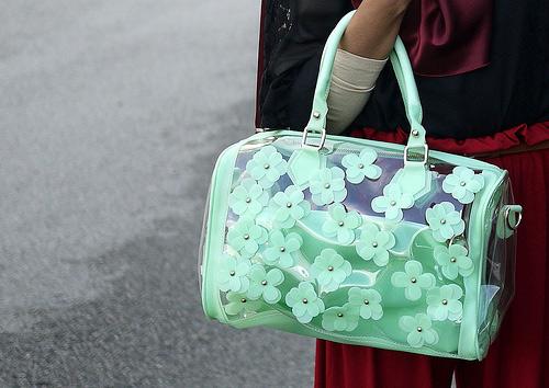 Túi xuyên thấu càn quét thời trang phố - 5