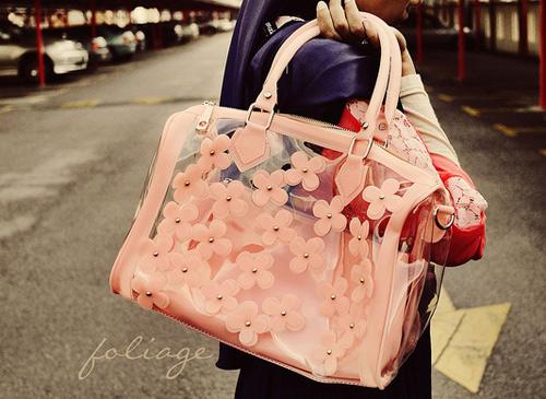 Túi xuyên thấu càn quét thời trang phố - 6