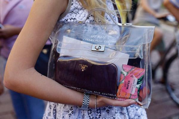 Túi xuyên thấu càn quét thời trang phố - 20