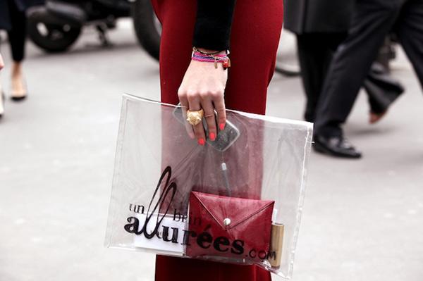 Túi xuyên thấu càn quét thời trang phố - 22
