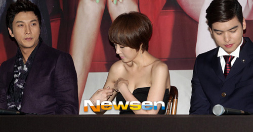 "Kim Sun Ah sexy ""cao tay"" - 6"