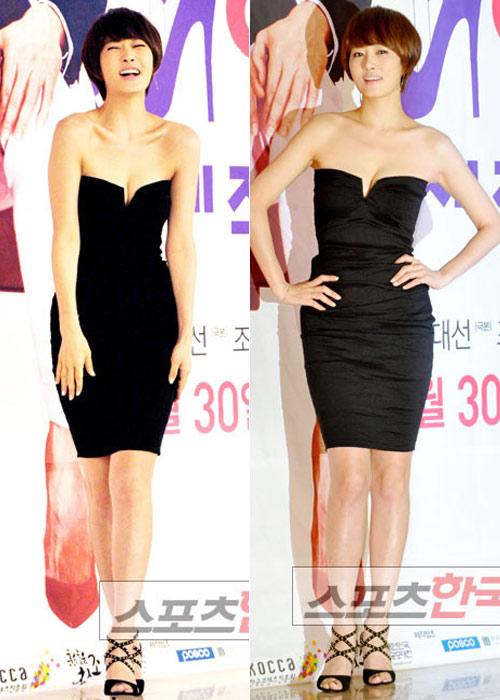 "Kim Sun Ah sexy ""cao tay"" - 2"