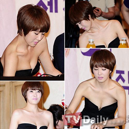 "Kim Sun Ah sexy ""cao tay"" - 13"