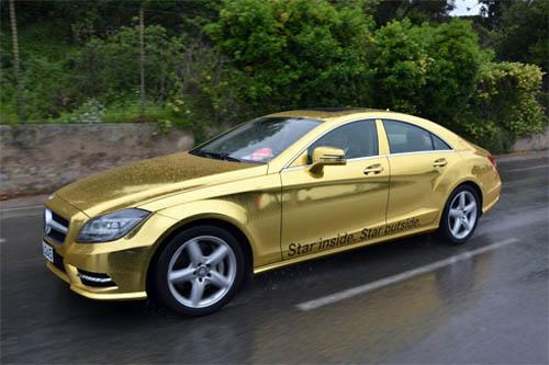 """Mercedes """"mạ vàng"""" đón VIP tại Cannes - 2"""