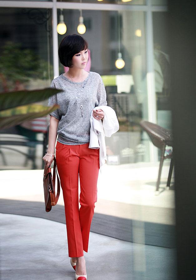 Mặc màu đỏ như thế nào cho đẹp? - 8