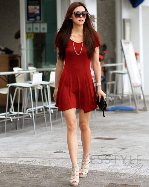 Mặc màu đỏ như thế nào cho đẹp? - 15