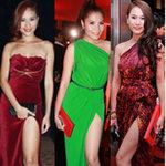 """Thời trang - Váy xẻ """"thấu trời"""" của mỹ nhân Việt"""