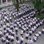 Giáo dục - du học - Nhảy Flashmob chia tay tuổi học trò