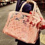 Thời trang - Túi xuyên thấu càn quét thời trang phố