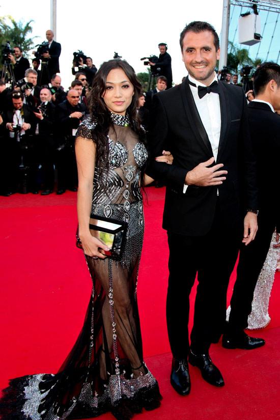 """Cannes: Sao Việt """"so găng"""" với sao ngoại - 12"""