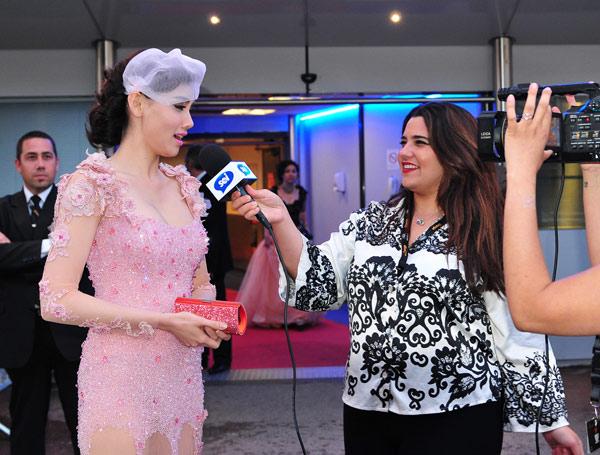 """Cannes: Sao Việt """"so găng"""" với sao ngoại - 6"""