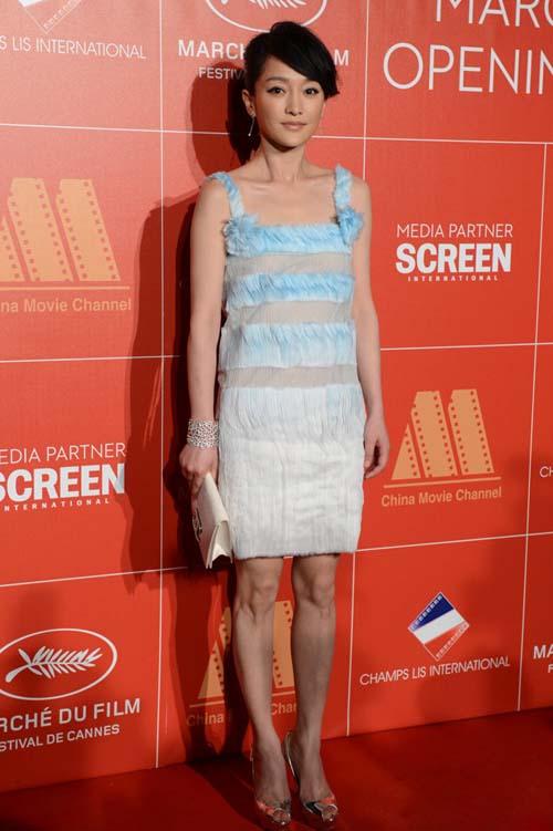 """Cannes: Sao Việt """"so găng"""" với sao ngoại - 17"""