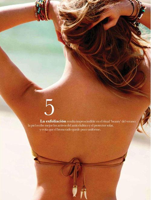 Bar Refaeli khỏa thân trên Elle - 16
