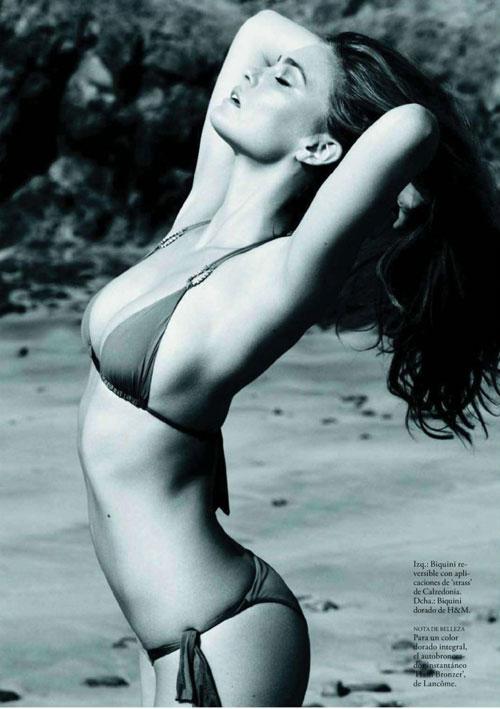 Bar Refaeli khỏa thân trên Elle - 3