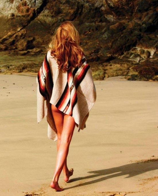 Bar Refaeli khỏa thân trên Elle - 7