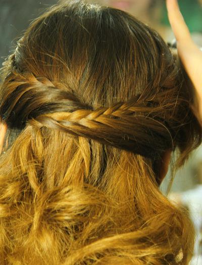 Biến tấu lạ với mái tóc tết - 1