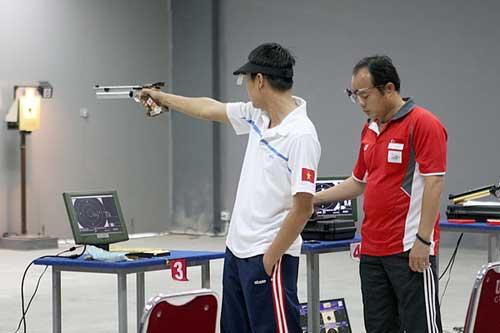 Bắn súng VN tập huấn ở Hàn Quốc - 1