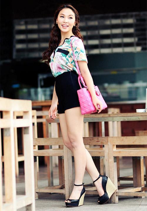 Ngắm Quỳnh Thư mặc đẹp cho dáng chữ nhật - 15