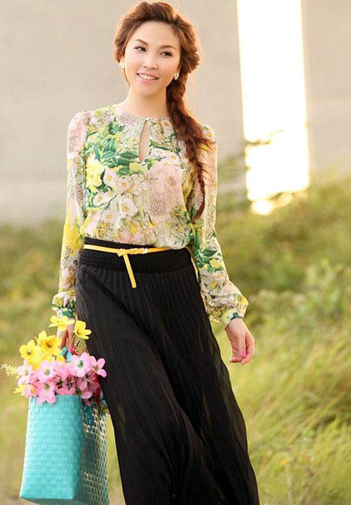 Ngắm Quỳnh Thư mặc đẹp cho dáng chữ nhật - 13