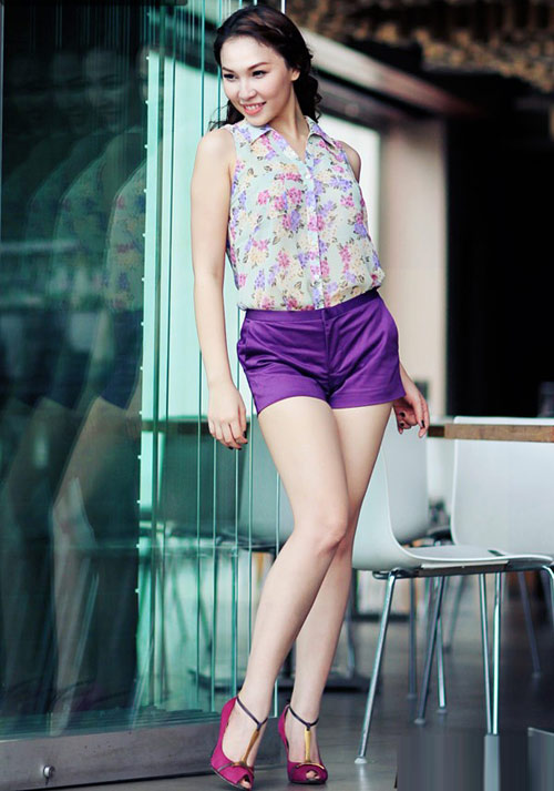 Ngắm Quỳnh Thư mặc đẹp cho dáng chữ nhật - 14