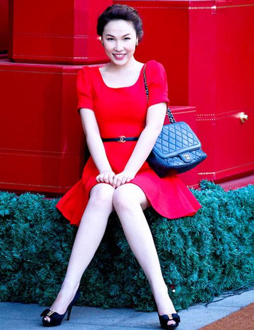 Ngắm Quỳnh Thư mặc đẹp cho dáng chữ nhật - 9