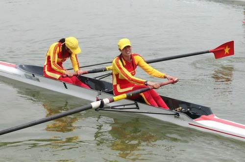 Đua thuyền VN dự Cúp châu Á - 1
