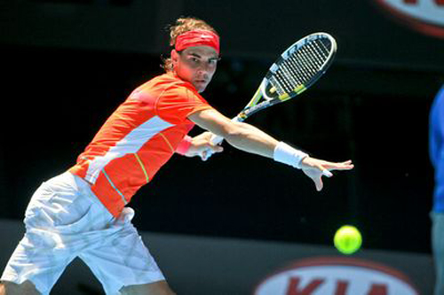 """Nadal & bí mật """"siêu"""" dây vợt - 2"""