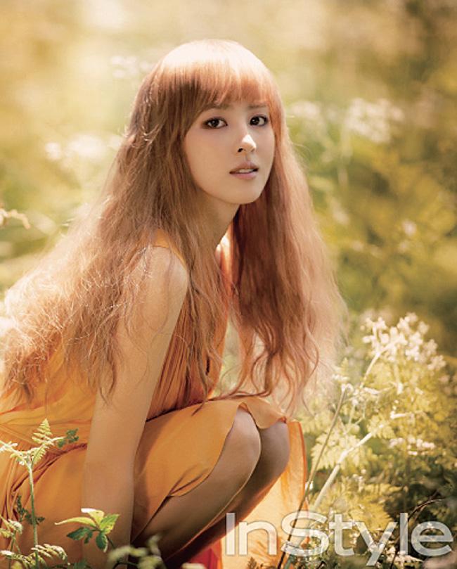 Nữ diễn viên Han Hye Jin…
