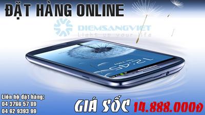 Đặt hàng Samsung Galaxy S3 i9300 giá sốc - 1