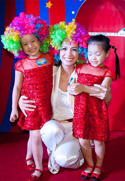 Sao Việt nhí nhảnh trong ngày của bé - 6