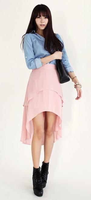 Tư vấn: Mặc váy mullet trong đời thường - 2