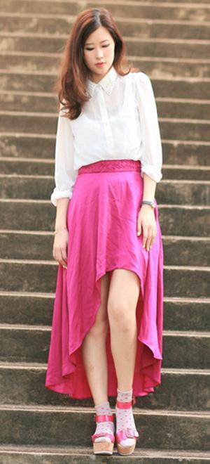 Tư vấn: Mặc váy mullet trong đời thường - 3