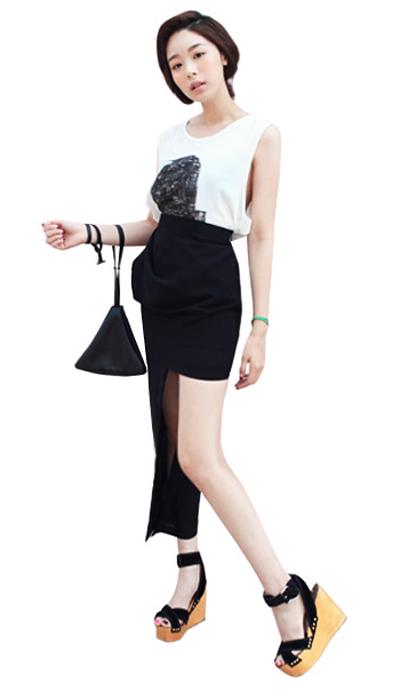 Tư vấn: Mặc váy mullet trong đời thường - 10