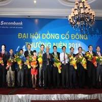 Sacombank thay các lãnh đạo chủ chốt