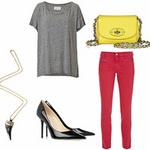 Thời trang - Mặc đẹp chỉ với một chiếc quần jeans đỏ