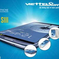 Sở hữu ngay Samsung Galaxy SIII tại Viettelstore