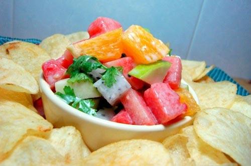 Salad trái cây cho bữa sáng nhanh gọn - 4