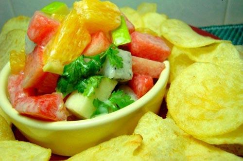 Salad trái cây cho bữa sáng nhanh gọn - 5