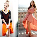 Thời trang - Váy mullet thướt tha trên đường phố Tây