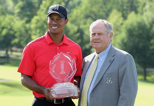 Tiger Woods san bằng kỷ lục của huyền thoại Jack Nicklaus, Golf, Thể thao, Tiger Woods, Golf, the thao, Jack Nicklaus, PGA Tour, Sam Snead, video the thao, video golf, BXH PGA Tour, Major, Memorial Tournament