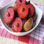 Ẩm thực - Thòm thèm mận hậu dầm chua ngọt